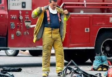 Bomberos fueron robados mientras atendían una emergencia