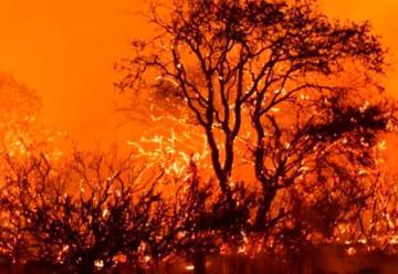 Córdoba envió a bomberos a La Pampa por los incendios