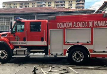 Donan camión de bomberos para el Casco Antiguo