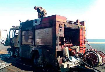 Dramático relato de un bombero que logró escapar de las llamas
