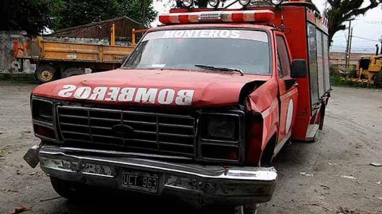 Intervinieron a los Bomberos Voluntarios de Monteros