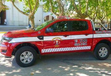 Bomberos Voluntarios deRanchos incorporó una nueva unidad