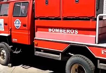 Bomberos de San Vicente en paro de labores