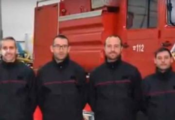 Medalla de oro para cuatro bomberos por su valor