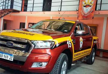 Bomberos de Chilecito adquirieron una nueva camioneta