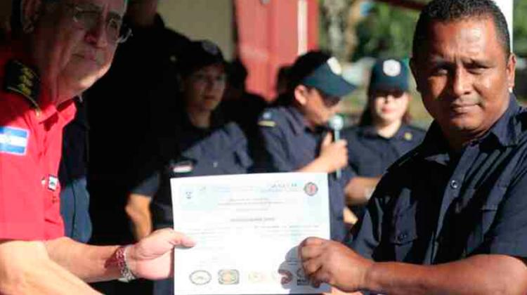 Bomberos de Panamá capacitan a efectivos nicaragüenses