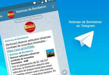 Noticias de Bomberos ahora en Telegram