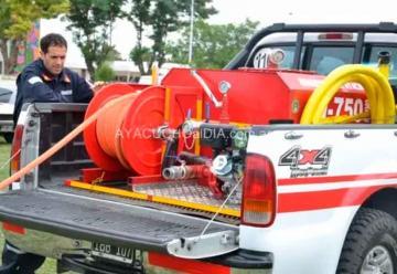 Bomberos presentó su nuevo equipamiento liviano