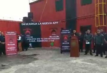 Bomberos de México Lanzan app para emergencias