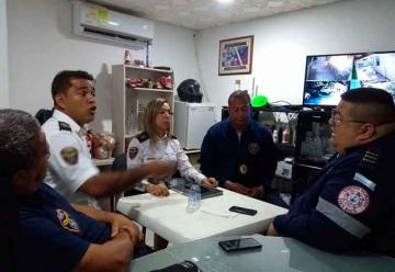 Se reunieron comandantes de Bomberos del Magdalena