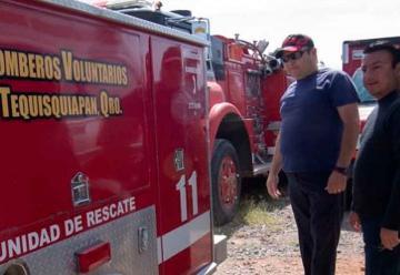 Bomberos de Tequisquiapan buscan recursos con cena-baile