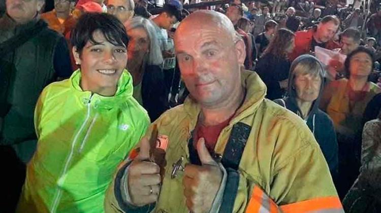 Dos bomberos de Luro subirán al rascacielos más alto de Seattle