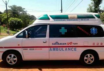 Bomberos de Edelira presentó su nuevo móvil de rescate