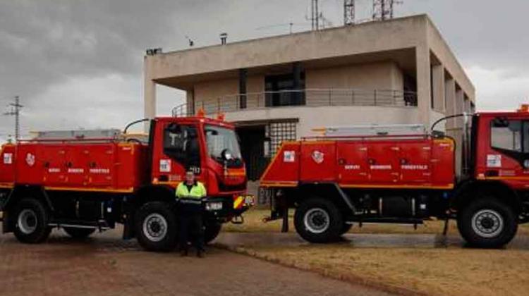Nueva autobomba para los bomberos forestales en La Torre