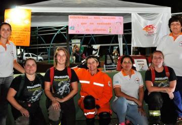 Bomberos de Corral de Bustos celebraron el Día de la Mujer