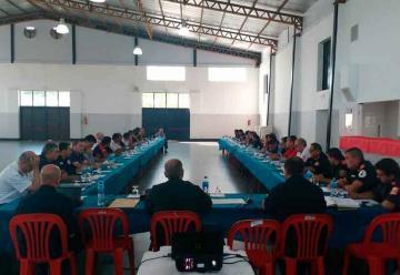 Reunión Trimestral de Jefes de la federación Bonaerense de Bomberos