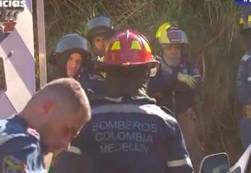 42 unidades de bomberos atendieron incendio en Itagüí