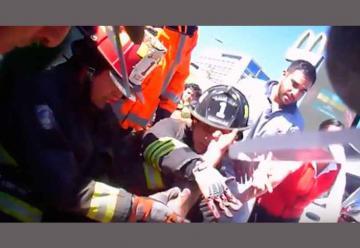Bomberos de Rancagua interpone querella por agresión a voluntario