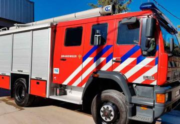 Bomberos de El Trébol adquirió un nuevo autobomba