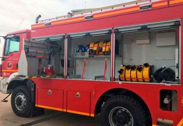 Bomberos de la Diputación adquiere dos nuevos vehículos