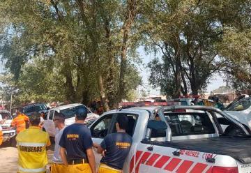 Bomberos de la Zona I de la Federación Pampeana se reunieron en Realicó