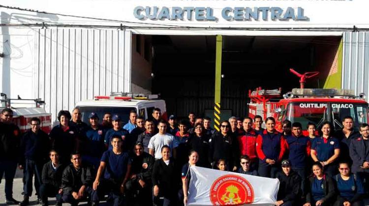 Capacitan a bomberos en Psicología de la Emergencia