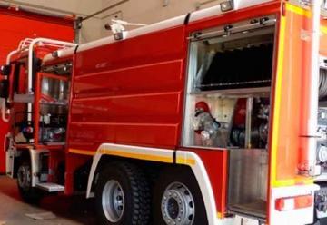Nuevo camión de bomberos para el Parque Sur