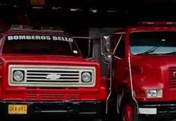 Carros del Cuerpo de Bomberos de Bello se encuentran fuera de servicio