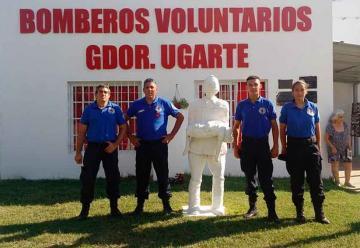 Bomberos de Ugarte festejaron su 10° aniversario