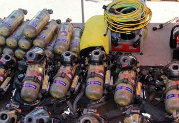 Entregan equipamientos al Cuerpo de Bomberos de La Paz