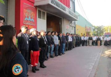 Bomberos hispanos en curso internacional en Trenque Lauquen