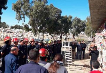 A dos años de su muerte, homenaje al bombero Gramajo