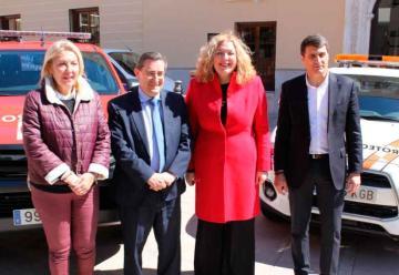 Tres nuevos vehículos para el Parque de Bomberos de Motril