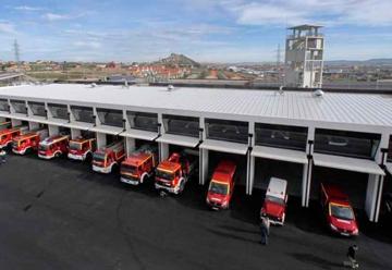 Roban equipo de excarcelación del Parque de Bomberos de Santander