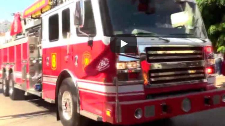 Nuevos carros para bomberos fueron entregados en Valparaíso y Viña