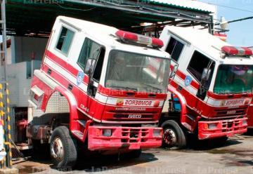Bomberos de Iribarren con pocas unidades para atender emergencias