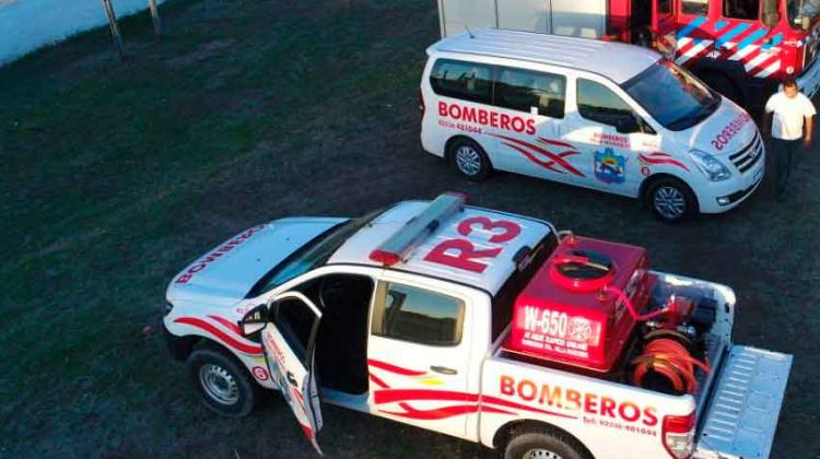 Bomberos Voluntarios de Villa Huidobro adquirió Kit Forestal