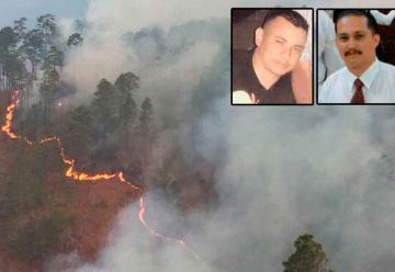Mueren dos de los cinco bomberos heridos en incendio forestal