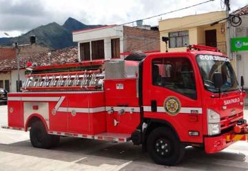 Bomberos Voluntarios de San Pablo recibió un carro cisterna