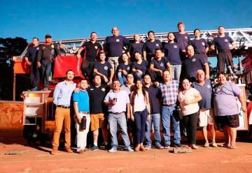 Bomberos Voluntarios de Iguazú recibió una nueva unidad