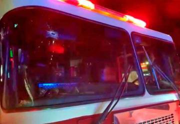 Atacan a balazos a bomberos de Tlajomulco