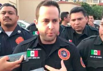 Bomberos de Nuevo León protestan y piden transparencia