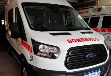 Nueva ambulancia de los Bomberos Voluntarios de Gálvez