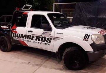 Bomberos de Pocito bautizó «ARA San Juan» a su primera camioneta