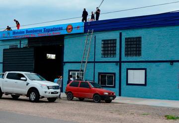 Inauguran Cuartel de Bomberos Zapadores en San Benito