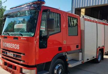 Bomberos Voluntarios de Villa Nueva tiene nuevo camión de rescate
