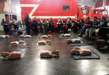 Bomberos de Lomas de Zamora capacitarán a la comunidad