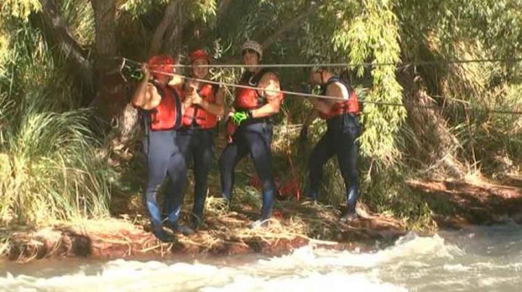 Bomberos se capacitaron en técnicas de rescate