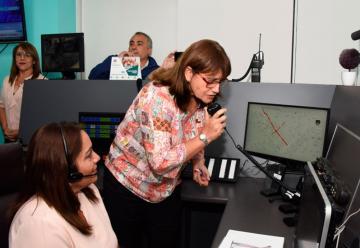 Bomberos de Arica inauguró única central de alarma sustentable