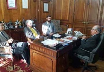 Cuerpo de Bomberos de Quillota se reunió con Presidente Nacional